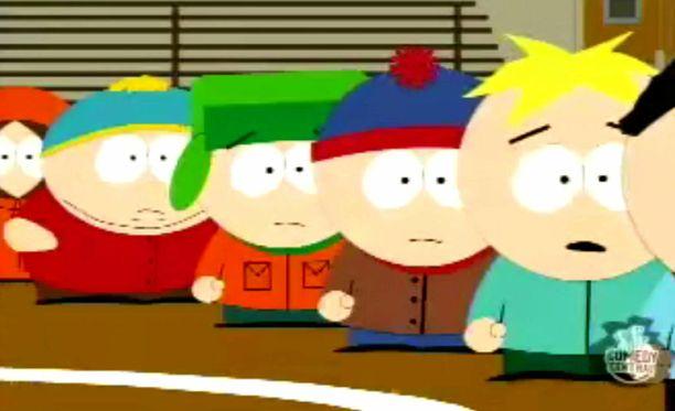 South Parkia on tehty jo 18 vuotta.