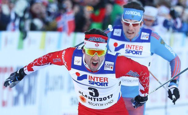 Alex Harvey taisteli itsensä maailmanmestariksi.