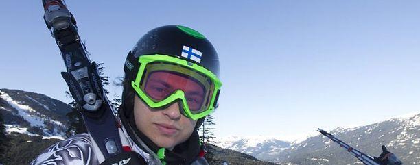 Marcus Sandell on nousemassa Suomen ykköslaskijaksi.