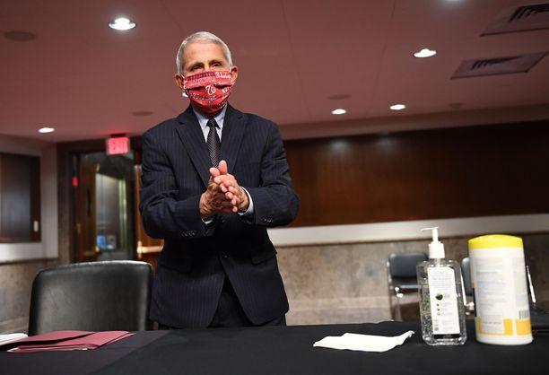 Anthony Fauci on huolissaan maansa koronatilanteesta.