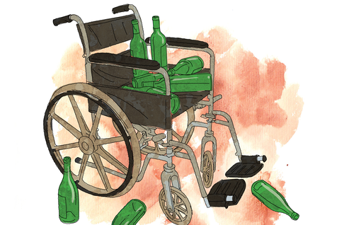 """Leena, 62, juo lähes päivittäin litran viiniä: """"Työpäivän jälkeen en jaksa muuta kuin tonkan viiniä"""""""