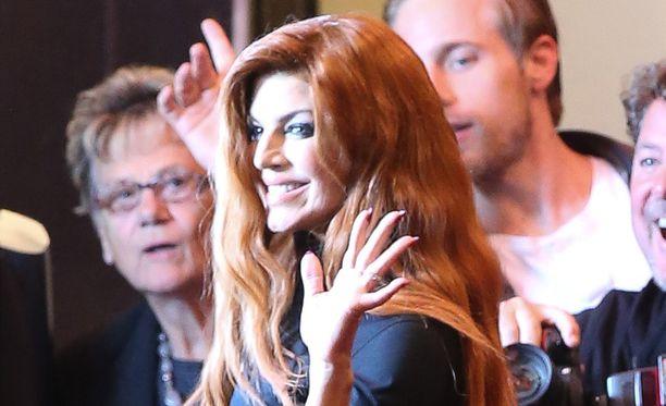 Fergie jätti pestinsä The Black Eyed Peas -yhtyeen laulajana.