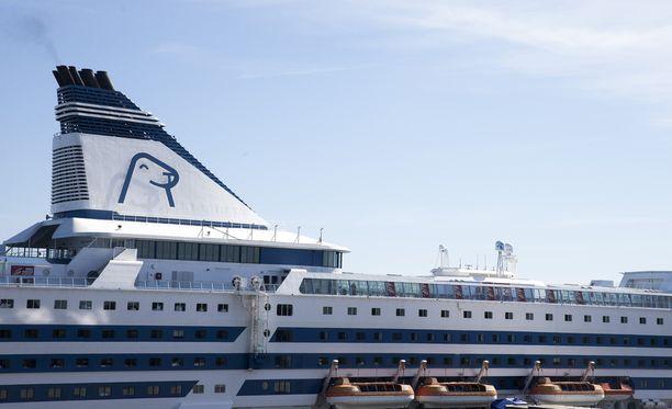 Raiskaus tapahtui Silja Linen Baltic Princess -aluksella.