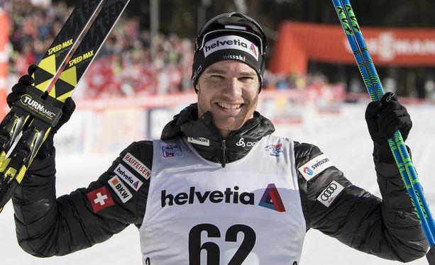 Dario Cologna johtaa sveitsiläisten rynnistystä Tour de Skillä.