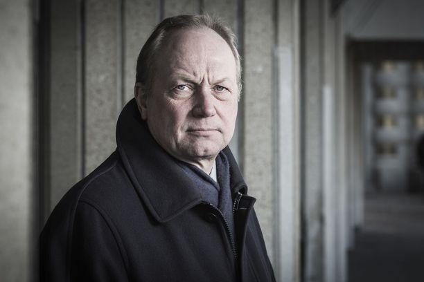 Juhani Pekkala kuvattuna vuonna 2014, jolloin hän toimi Kaupan liiton toimitusjohtajana.