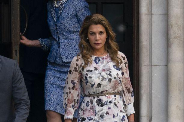 Prinessa Haya nähtiin tällä viikolla pitkästä aikaa julkisuudessa.