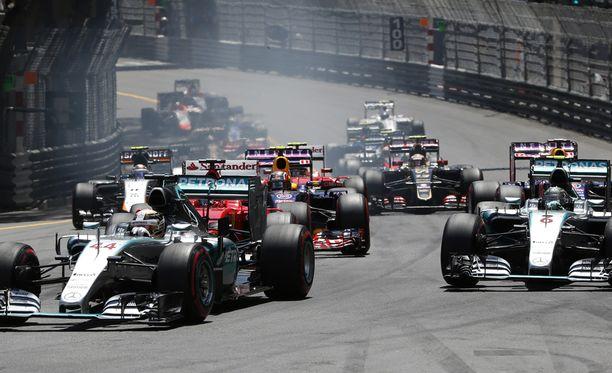 F1-sarjaan halutaan lisää isoja talleja.