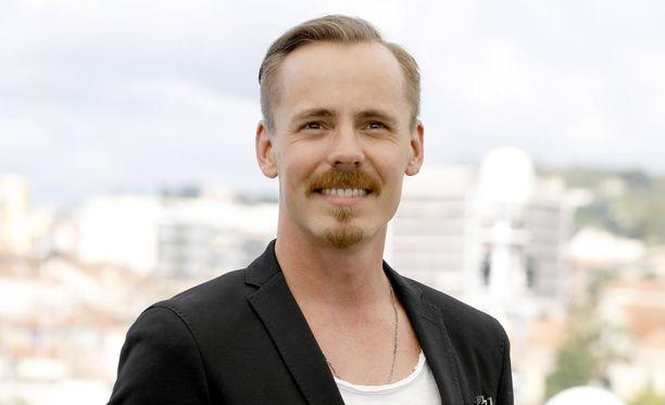 Jasper Pääkkönen kuvattuna Cannesin elokuvafestivaaleilla BlacKkKlansman -elokuvan pressitilaisuudessa.
