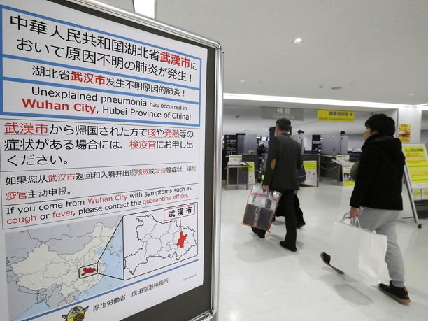 Kiinalaisia on varoitettu selittämättömästä keuhkokuumetaudista.