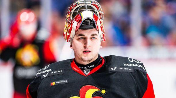 Janis Kalnins torjui Jokereille 5–1-voiton Lokomotivista.