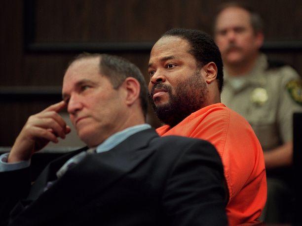 Rozier vuoden 2001 oikeudenkäynnissään.