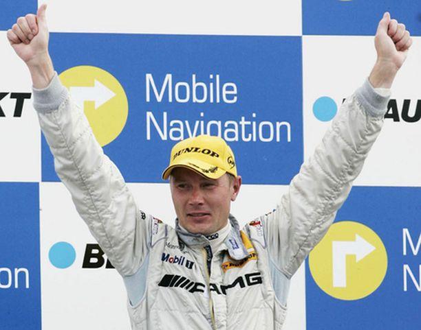 Mika Häkkinen sai sijoituksestaan lisää energiaa.