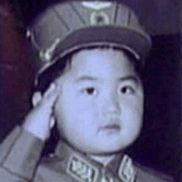 Ajoittamaton Pohjois-Korean uutistoimiston jakama kuva tulevasta maan johtajasta.