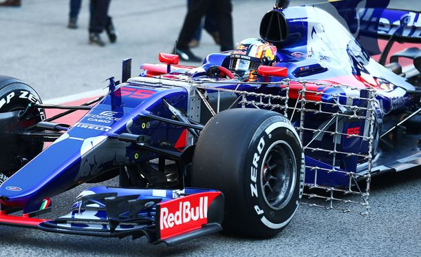Toro Rosson keulassa on erikoinen sensori.