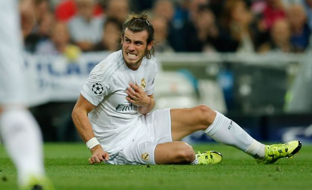 Gareth Bale loukkaantui Shahtar Donetskia vastaan pelatussa ottelussa.