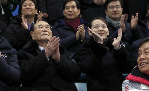 Pyeongchangin talviolympialaisia Kim Yo-jang seurasi paikan päällä.