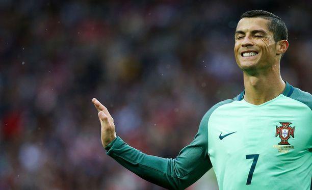 Cristiano Ronaldo ratkaisi Portugalille voiton Venäjästä.