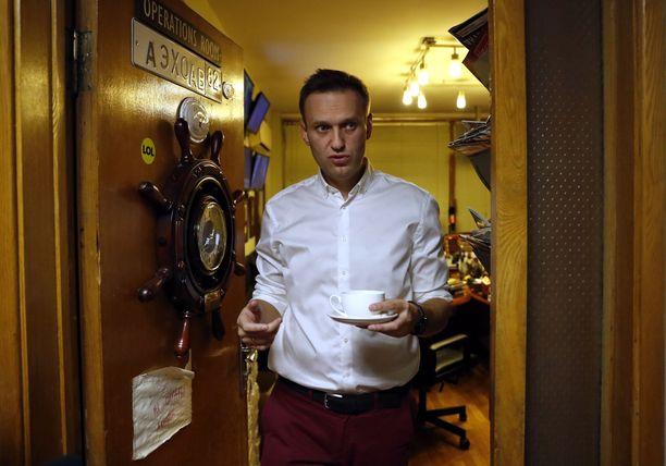 Aleksei Navalnyi pääsi lähtemään Ranskaan ja Strasbourgiin.