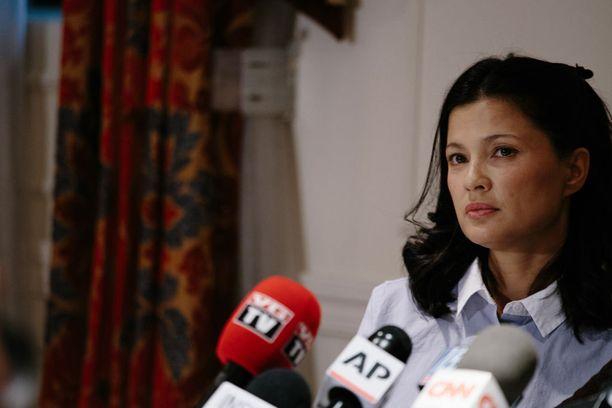 Malthe kertoi raiskauksesta lehdistölle keskiviikkona.