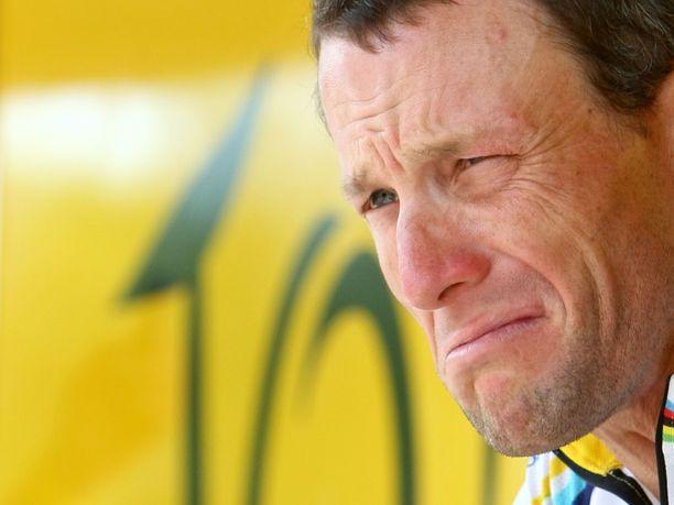Kuvassa oikea Lance Armstrong vuonna 2009.
