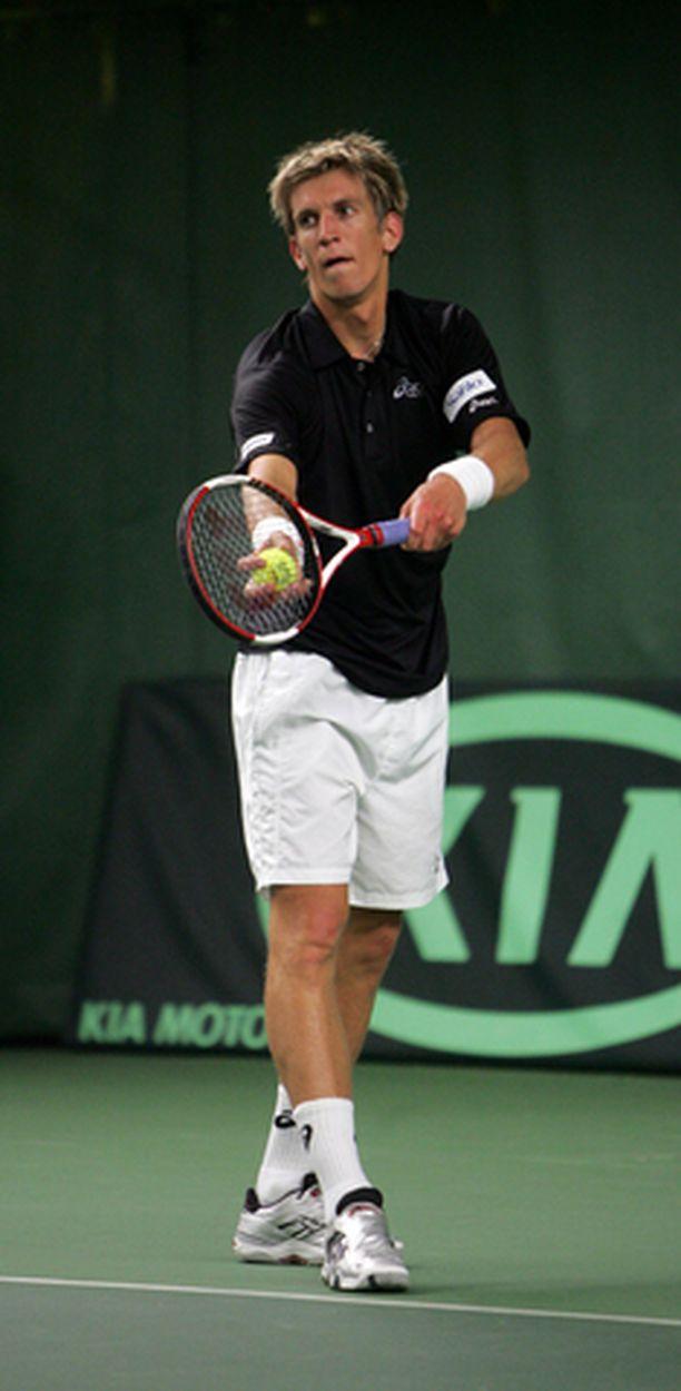 Nieminen pelasi kuun alussa myös Helsingissä.