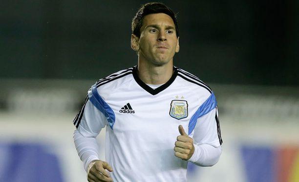 Lionel Messillä on mahdollisuus nousta suurten joukkoon.