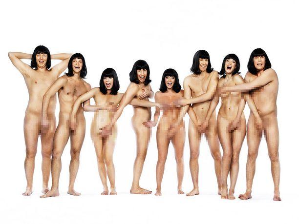 Putous-sarjan uutta kautta mainostetaan näyttelijöiden alastonkuvalla.