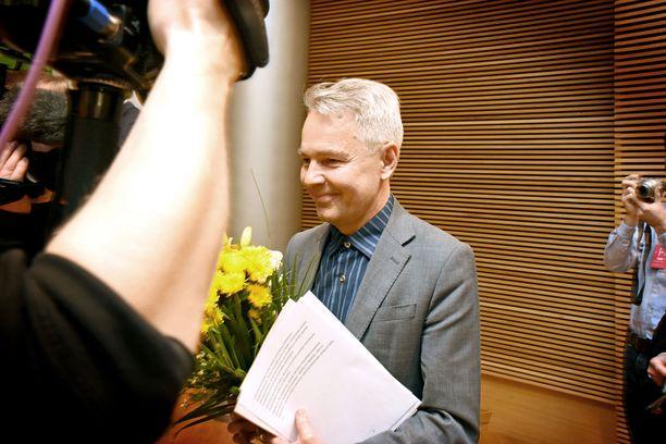 Pekka Haavisto ei lukitse vihreiden kantaa Fennovoima-kysymykseen.