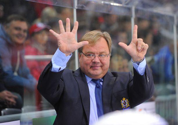 Hannu Jortikka vei Amurin sensaatiomaisesti playoffeihin keväällä 2012.