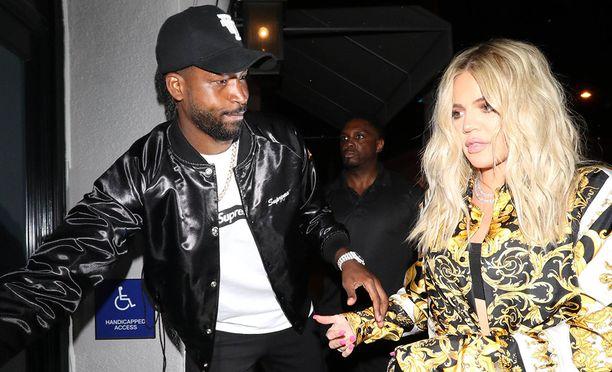 Khloe Kardashian ja Tristan Thompson viihtyvät jälleen yhdessä.
