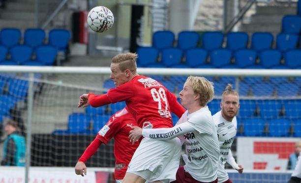 Mikael Forssell debytoi HIFK:ssa.