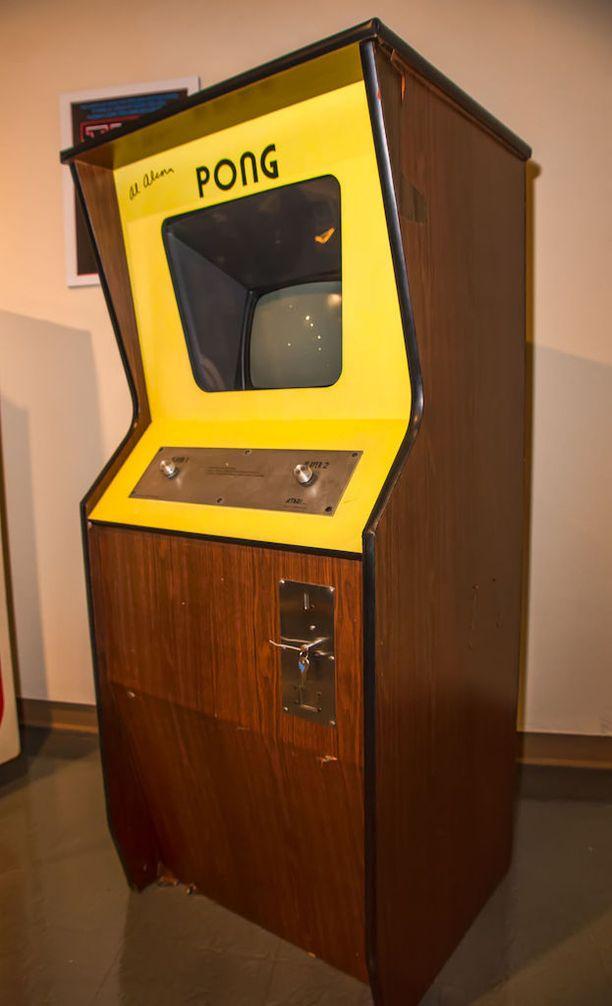 Nykyisin alkuperäiset Pong-arcadekonsolit ovat todella arvokkaita.