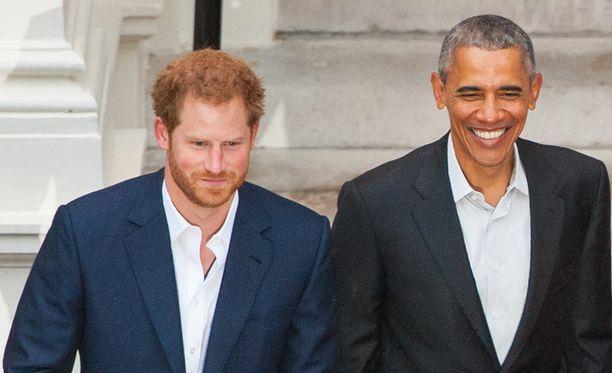 Kaksikko kohtasi myös vuosi sitten Lontoossa.