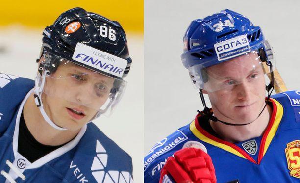 Veli-Matti Savinainen ja Olli Palola siirtyvät ensi kaudeksi Kunluniin.