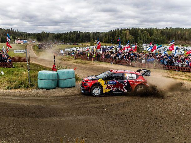 MM-ralli on Suomen suurimpia yleisötapahtumia.