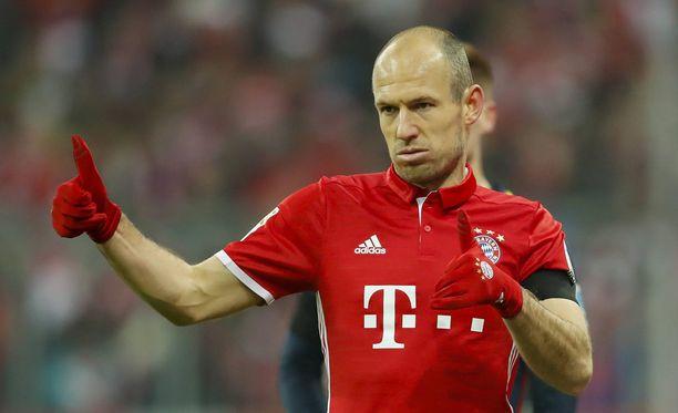 Arjen Robben siirtyi Madridista Bayerniin 24 miljoonalla eurolla.