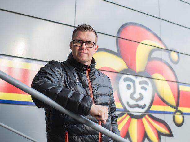 Janne Vuorinen työskentelee Jokereissa pelaajakoordinaattorina.