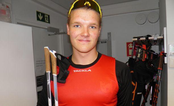 Verneri Poikonen pääsi nauttimaan laosuuden idolinsa voittamisesta Imatralla.