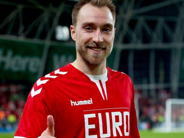 Christian Eriksen on Tanskan suurin tähti.