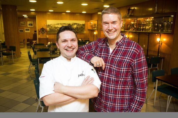 Janek Bjurström ja Marco Bjurström pyörittivät yhdessä kahta ravintolaa.