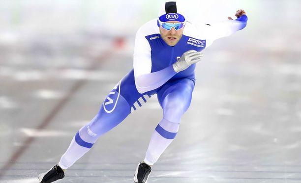 Mika Poutala sijoittui kuudenneksi.