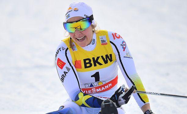 Stina Nilssonin valmentaja sai noroviruksen olympiakylässä.