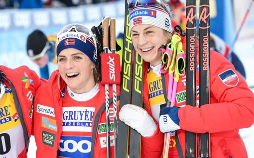 """Huippuhiihtäjän kohtelu kuohuttaa Norjan maajoukkuetta - Therese Johaug jyrähti: """"Se on täysin väärin"""""""