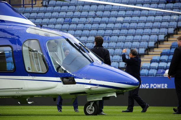 Leicester Cityn omistajan Vichai Srivaddhanaprabhan helikopteri putosi nousun jälkeen stadionin viereiselle parkkipaikalle.