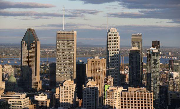 Montreal kuvattuna vuonna 2017.