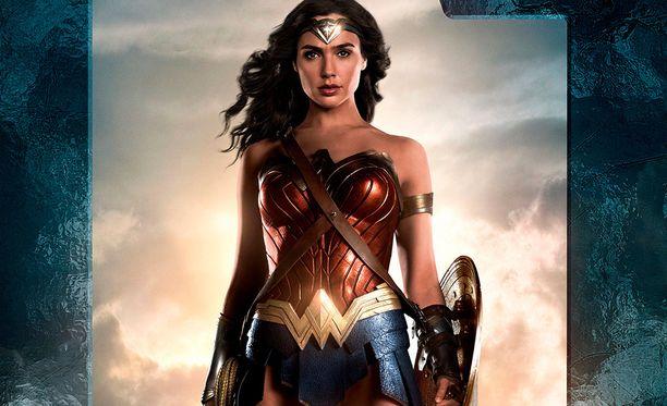 Wonder Woman oli tuottoisimpien elokuvien joukossa Yhdysvalloissa.