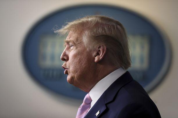 USA:n presidentti Donald Trump sanoi keskiviikkona, ettei ole saanut raporttia.