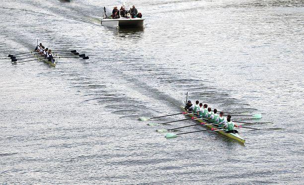Cambridgen yliopisto voitti viime vuoden soutukisan.