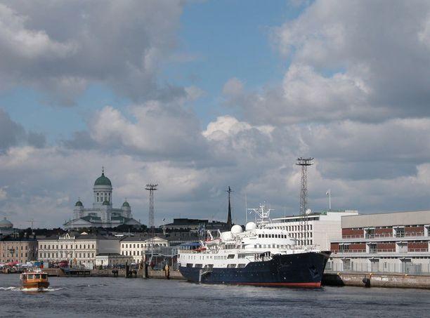 Helsinki on hieno kaupunki.