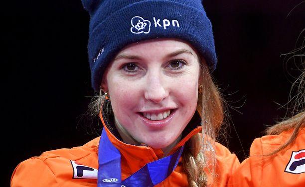 Lara van Ruijven saavutti maailmanmestaruuden vuonna 2019. Arkistokuva.